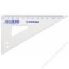 DONAU Háromszög vonalzó, műanyag, 60°, 12 cm, DONAU (D7031)