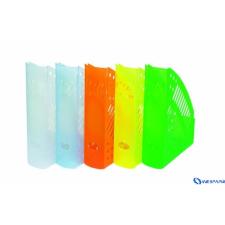 DONAU Iratpapucs műanyag 70 mm áttetsző narancs irattálca