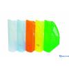DONAU Iratpapucs műanyag 70 mm áttetsző zöld