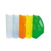 DONAU Iratpapucs, műanyag, 70 mm, DONAU, áttetsző narancs