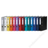 DONAU Iratrendező, 50 mm, A4, PP/karton,  DONAU Szivárvány, fekete (D3950FK)
