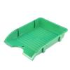 "DONAU Irattálca, műanyag, törhetetlen,  ""Solid"", zöld"