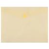 DONAU Irattartó tasak, 240x186x0,18, A5, PP, patentos, , sárga