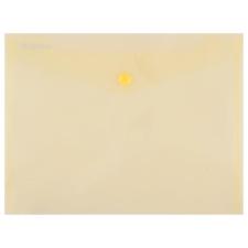 DONAU Irattartó tasak, 240x186x0,18, A5, PP, patentos, , sárga tasak