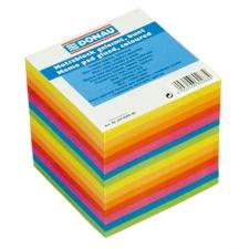 DONAU Kockatömb, 90x90x90 mm, ragasztott, DONAU, színes jegyzettömb