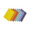 DONAU Premium prespán karton gumis mappa citromsárga