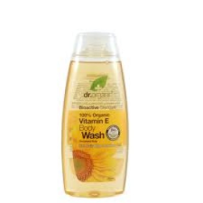 Dr.Organic Bio E-vitaminos tusfürdő, 250 ml tusfürdők