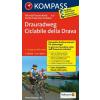 Drauradweg (Ciclabile della Drava) kerékpártérkép - Kompass FTK 7027