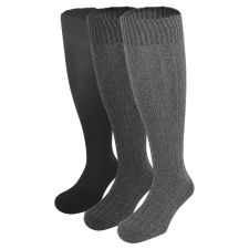 Dressa Norweger gyapjú térdzokni - 3 pár férfi zokni