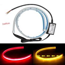 DRL ledcsík hátsó lámpába index funkcióval 12V párban autós kellék