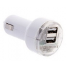 Dual szivargyújtó adapter 5 Volt USB kimenettel