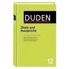 Duden Zitate und Aussprüche idegen nyelvű könyv