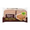 Dulcesol Pan Sottile csomagolt szeletelt teljes kiőrlésű kenyér 8 db 310 g