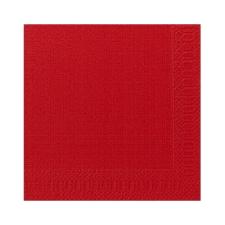Duni Duni szalvéta - 3 rétegű, 33x33, piros színben higiéniai papíráru