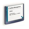 """DURABLE Információs tábla, 149x105,5 mm,  """"CLICK SIGN"""", kék"""