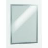 DURABLE Információs tábla -4873/03- mágneses, öntap. hátlap A3 Piros DURAFRAME