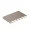 DURABLE Névjegykártyatartó tárca, fém, 20 db-os, , matt ezüst