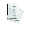 DURABLE Névkitűző betétlap 40x75 mm 240db/csom DURABLE