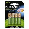DURACELL Duralock Recharge Ultra LR06 HR6 DX1500 4db/csom.