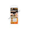 DURACELL hallókészülék elem PR41 6db/csom