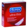 Durex Ultra Thin 3 db vékonyfalú óvszer