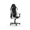 DXRacer Racing Fekete/Fehér Gamer szék