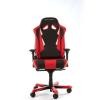 DXRacer Sentinel S28-NR fekete / piros Gamer szék