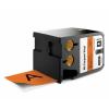 Dymo 1868770, 54mm x 7m, fekete nyomtatás / narancssárga alapon, eredeti szalag