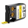 Dymo 1868771, 12mm x 7m, fekete nyomtatás / sárga alapon, eredeti szalag