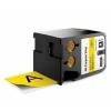 Dymo 1868775, 54mm x 7m, fekete nyomtatás / sárga alapon, eredeti szalag