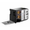 Dymo 1868804, 41mm x 7m, fekete nyomtatás / szürke alapon, eredeti szalag