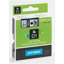 """DYMO Feliratozógép szalag, 12 mm x 7 m, DYMO """"D1"""", víztiszta-fekete nyomtató kellék"""