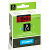 "DYMO Feliratozógép szalag, 24 mm x 7 m, DYMO ""D1"", piros-fekete"