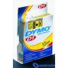 DYMO kazetta 12x7m fekete/víz
