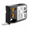Dymo XTL 1868667, 12mm x 38mm, 185db, fekete nyomtatás / fehér alapon, eredeti szalag