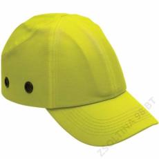 Earline® Fejvédős baseball sapka, hi-viz sárga