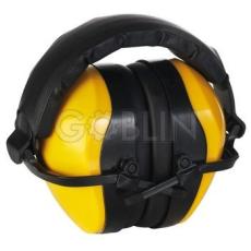 Earline® MAX 510 sárga fültok, összecsukható, állítható speciális mûanyagpántokkal (SNR 30dB)