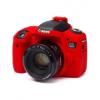 Easy Cover Szilikon tok canon 760D, piros