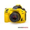 EasyCover szilikon tok Nikon D750 sárga