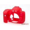 EasyCover szilikon védőtok Canon EOS 650D Canon EOS 700D piros