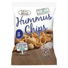 EAT REAL Hummus Chips Sós 45 g reform élelmiszer