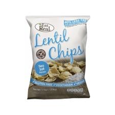 EAT REAL Lencse Chips Tengeri Sóval 40 g reform élelmiszer