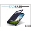 Eazy Case Samsung i9500 Galaxy S4 S View Cover flipes hátlap on/off funkcióval - EF-CI950BEGWW utángyártott - dark blue
