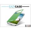 Eazy Case Samsung i9500 Galaxy S4 S View Cover flipes hátlap on/off funkcióval - EF-CI950BGEGWW utángyártott - green