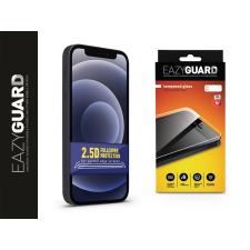 Eazyguard Apple iPhone 12 Mini gyémántüveg képernyővédő fólia - Diamond Glass 2.5D Fullcover - fekete mobiltelefon kellék