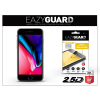 Eazyguard Apple iPhone 8 gyémántüveg képernyővédő fólia - Diamond Glass 2.5D Fullcover - fekete