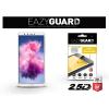 Eazyguard Huawei Y9 (2018) gyémántüveg képernyővédő fólia - Diamond Glass 2.5D Fullcover - fehér