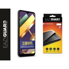 Eazyguard LG K22 LM-K200E gyémántüveg képernyővédő fólia - Diamond Glass 2.5D Fullcover - fekete mobiltelefon kellék