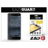 Eazyguard Nokia 6 gyémántüveg képernyővédő fólia - Diamond Glass 2.5D Fullcover - fekete
