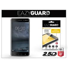 Eazyguard Nokia 6 gyémántüveg képernyővédő fólia - Diamond Glass 2.5D Fullcover - fekete tok és táska